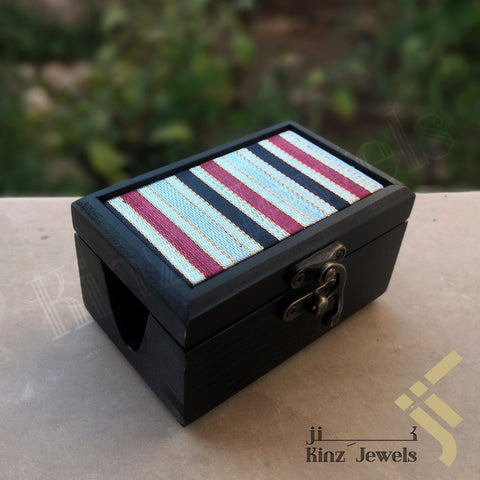 kinzjewels - Kinz Personalized Handcrafted Business Card Holder Box