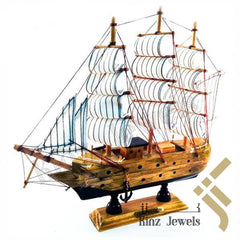 kinzjewels - Personalized Handicraft Antique Wooden Ship