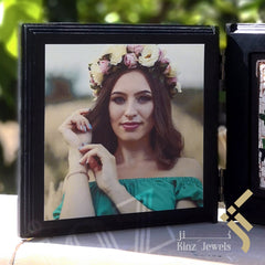 kinzjewels - Kinz Personalized Wooden Open Book Floral