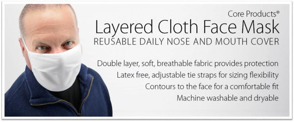 Layered Cloth Face Mask