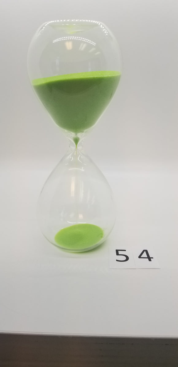 Glass Sand Timer without Base