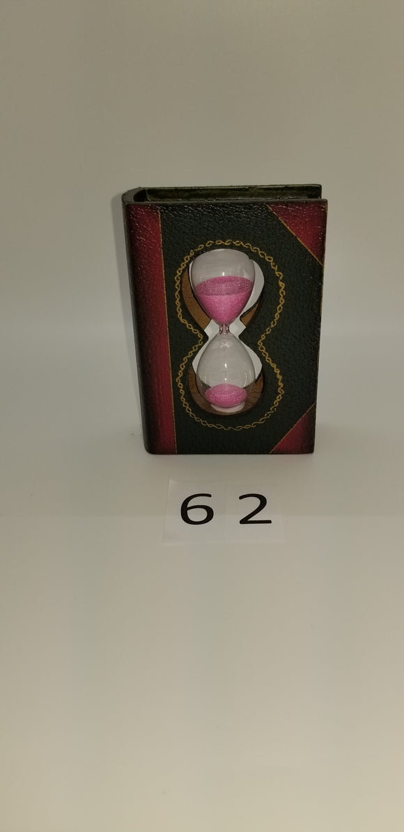Sand Timer In A Book