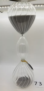 Clear Glass Sand Timer