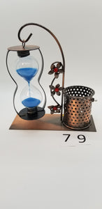 Sand Timer with Pen Caddy