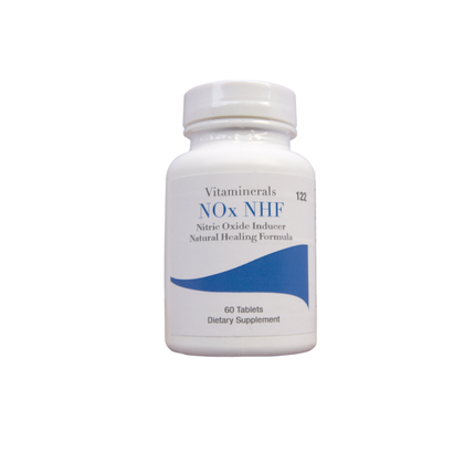 Vitaminerals 122 Nox-NHF Nitric Oxide Inducer