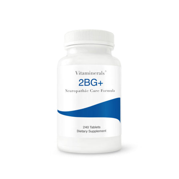 Vitaminerals 2BG+ High Potency B Complex