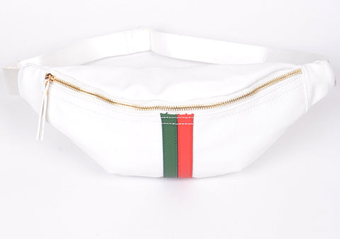 Inspired Fanny Pack White