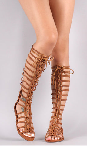 Gladiator Lace Up