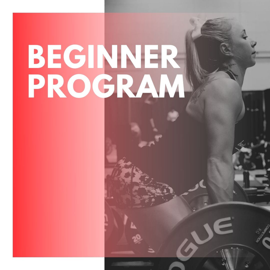 Beginner's Weightlifting Program