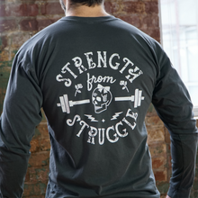 Skull Long Sleeve Pocket T