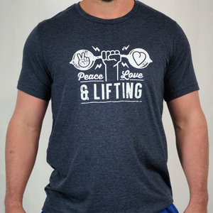 Peace Love Lifting Tee