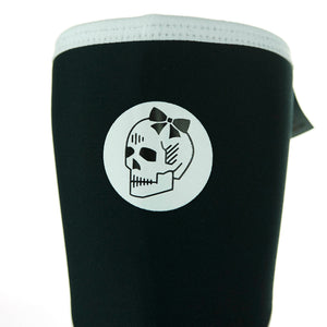 Black & White Neoprene Knee Sleeves