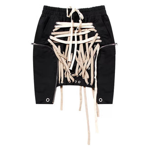 Laced Up Mini Skirt - Urban Creative Suite