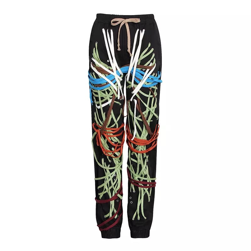 Laced Up Joggers - Urban Creative Suite