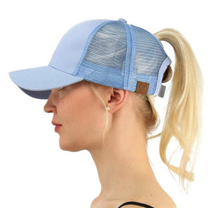PONY TAIL BASEBALL CAP