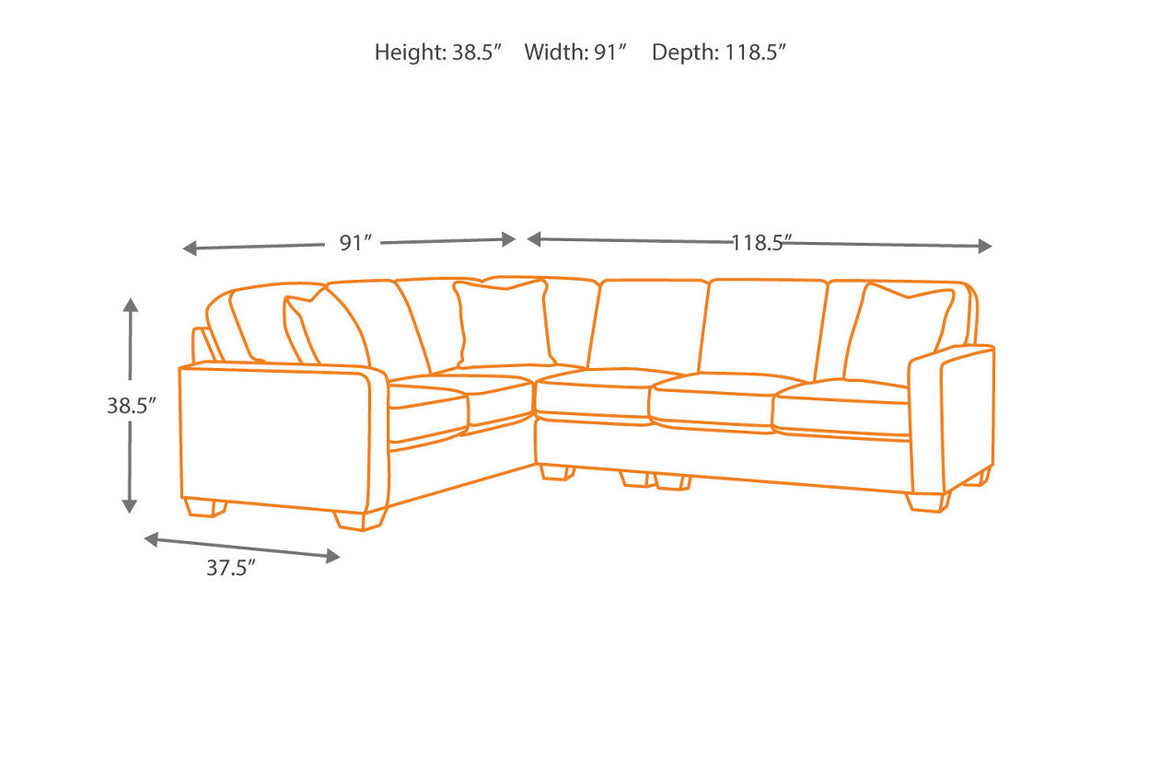beige sectional soft fabric