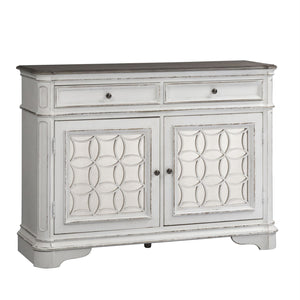 Magnolia Manor Antique White Buffet