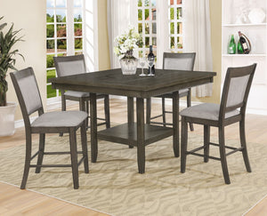 Fulton Counter Height Table with Lazy Susan