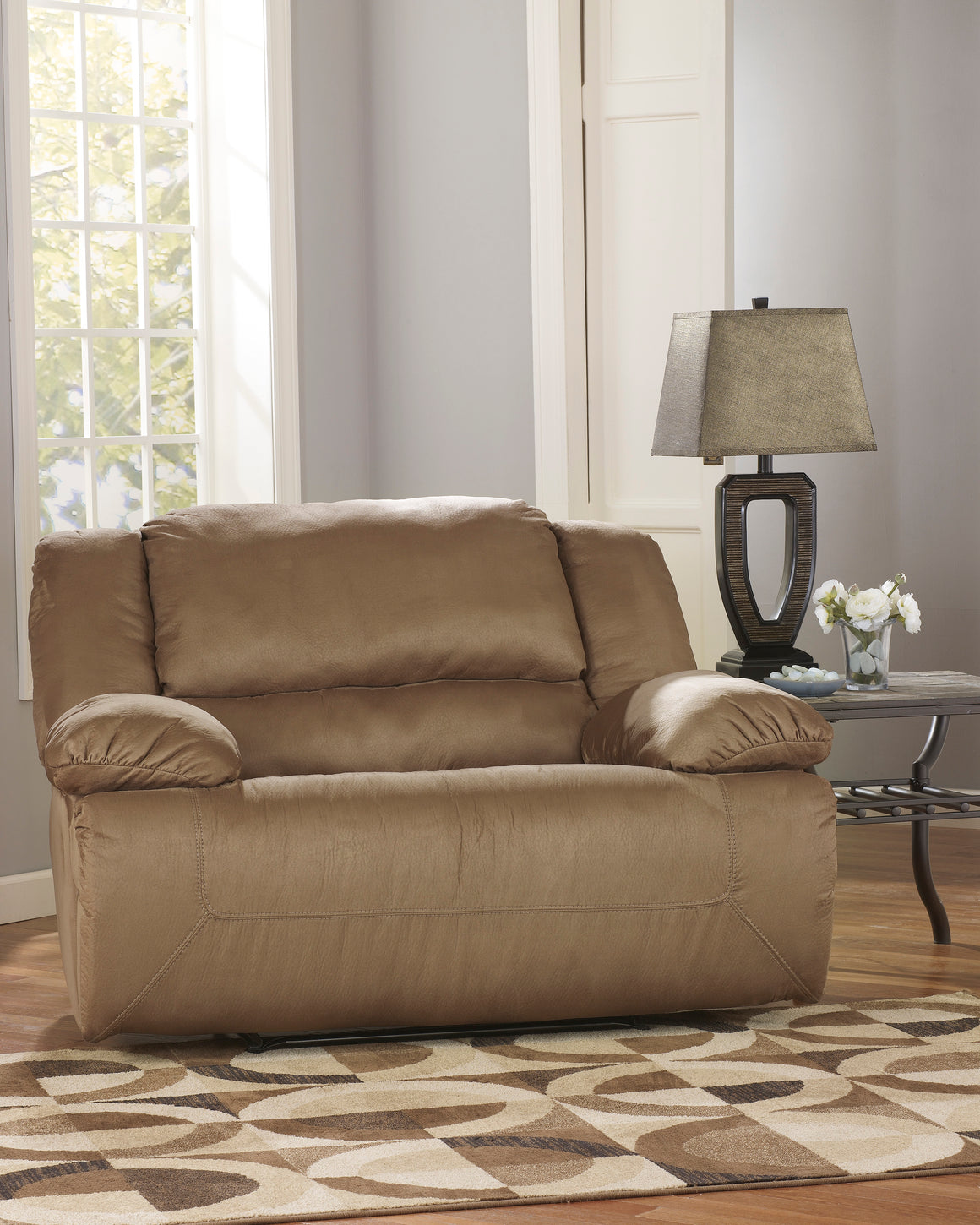 Ashley Furniture Signature Design - Hogan Oversized Recliner - Mocha