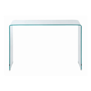 Rectangular Sofa Table Clear glass