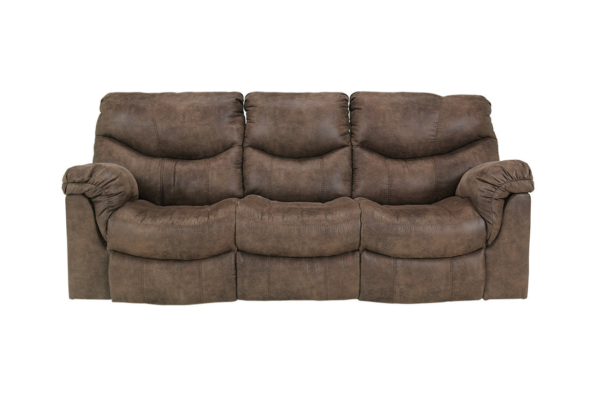 Alzena Reclining Sofa and Loveseat Signature by Desing by Ashley 7140094 7140088