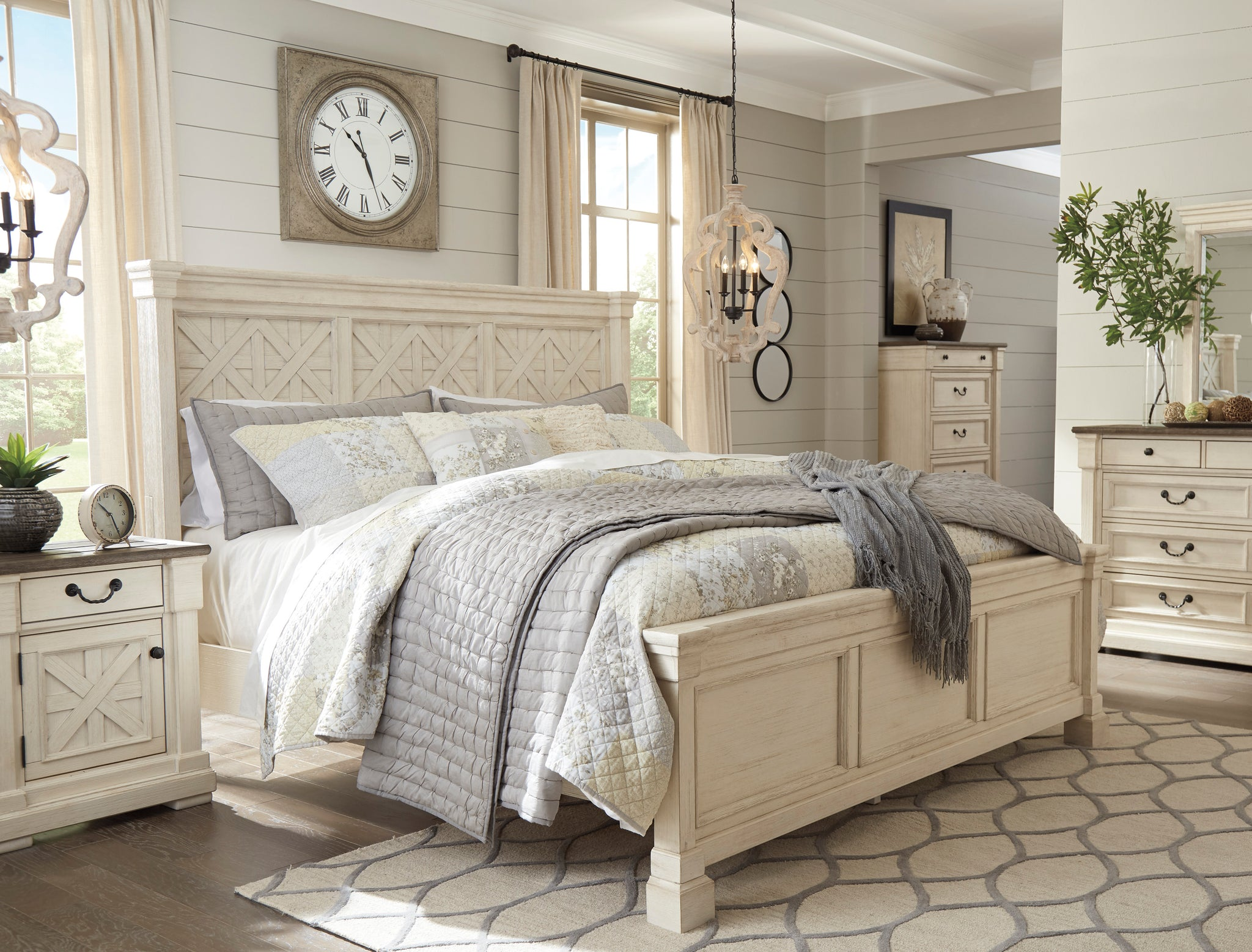 Bolanburg Panel Bedroom Set B647 La Sierra Furniture