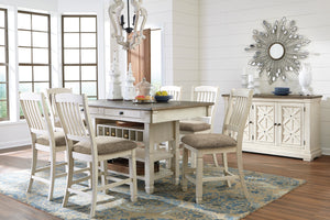 Bolanburg 5-Piece Counter Dining Room D647-324