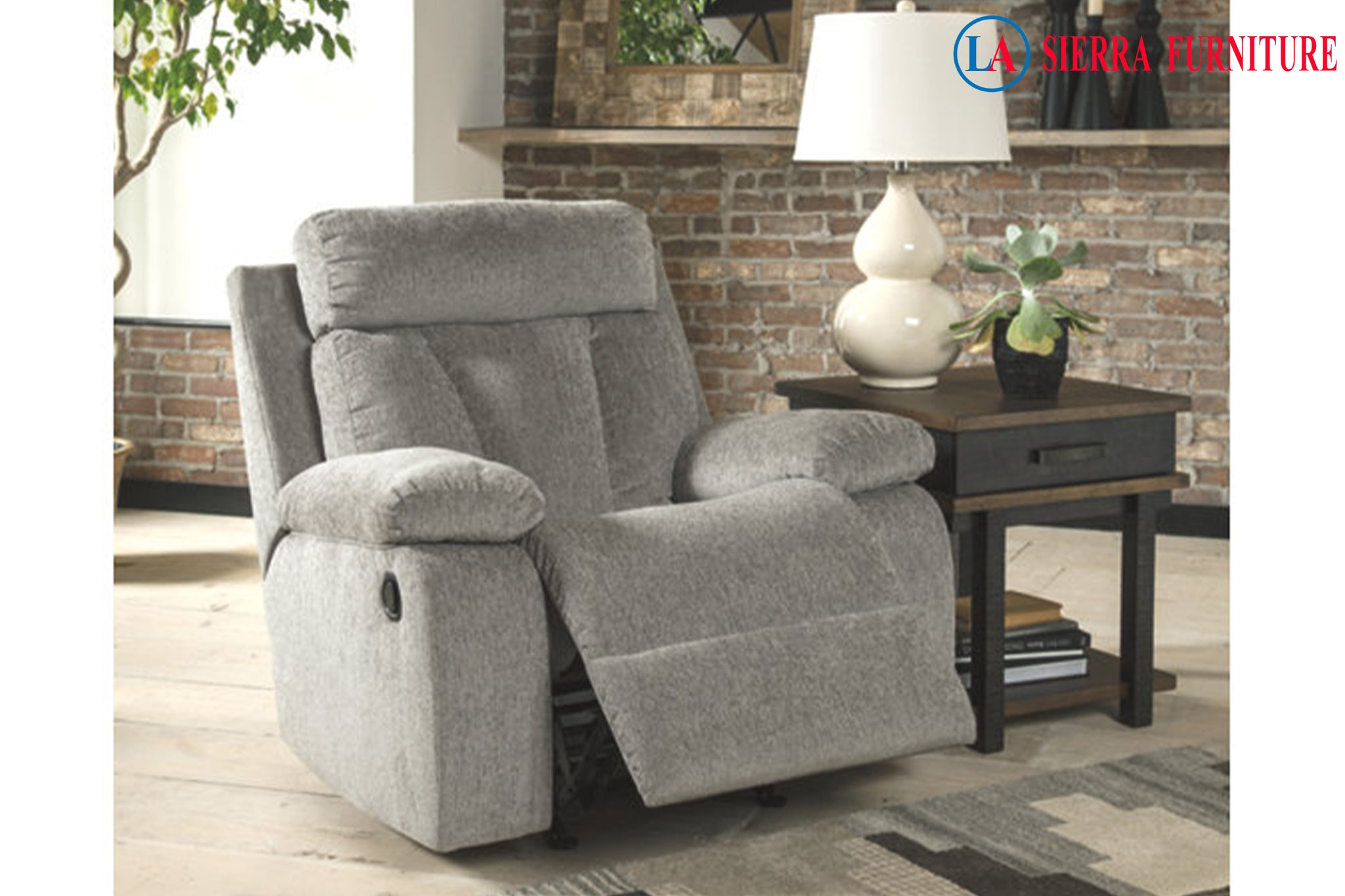 Mitchiner Fog Rocker Recliner La Sierra Furniture