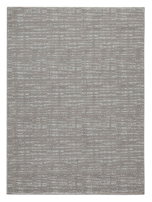 Norris Large Rug Taupe/White