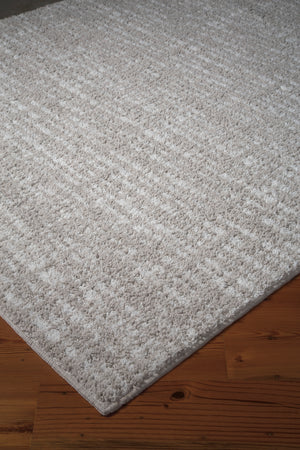 Norris Medium Rug Taupe/White