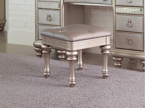 Metallic Platinum Vanity