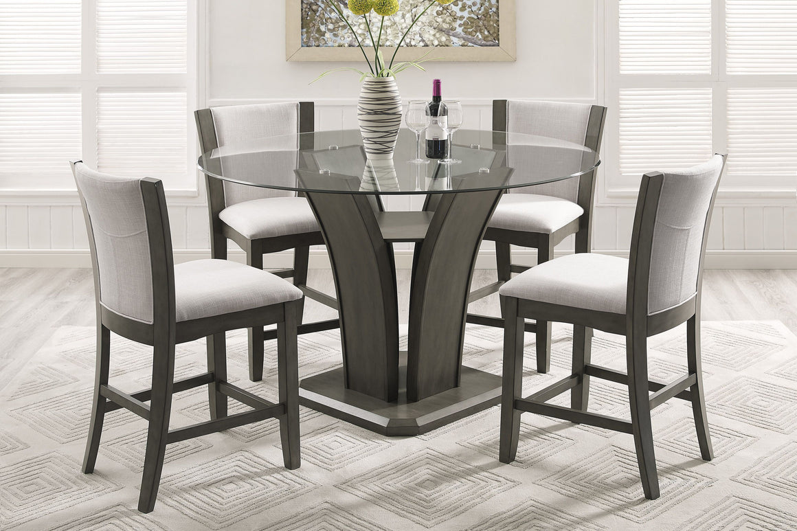 Camelia Grey Counter Height Dining Set