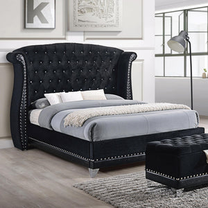 Barzini Upholstered Bed by Coaster
