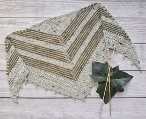 One Green Day Shawl - Pattern Only