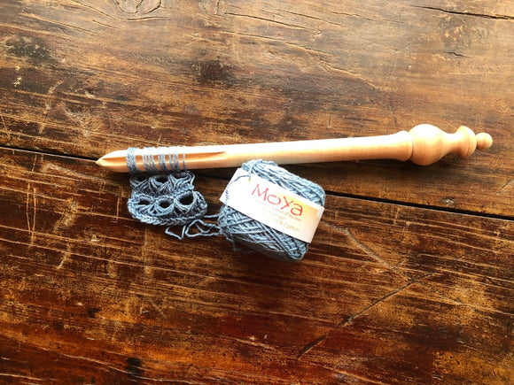 Broomstick Lace Pin