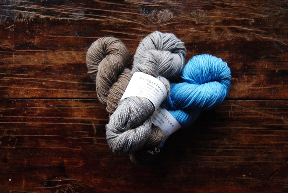 Cowgirl Blues - Merino Twist Variegated