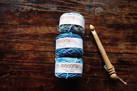 MoYa 100% Cotton Double Knit - Variegated