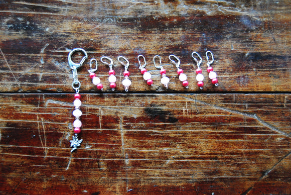 Beaded Stitch Markers - Knitting or Crocheting