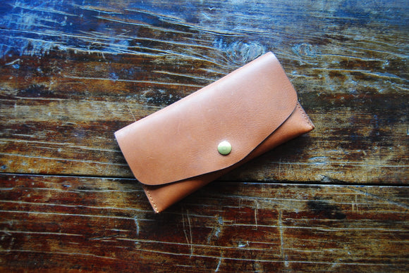 Luna Fibers Accessories - Leather Notion Pouch