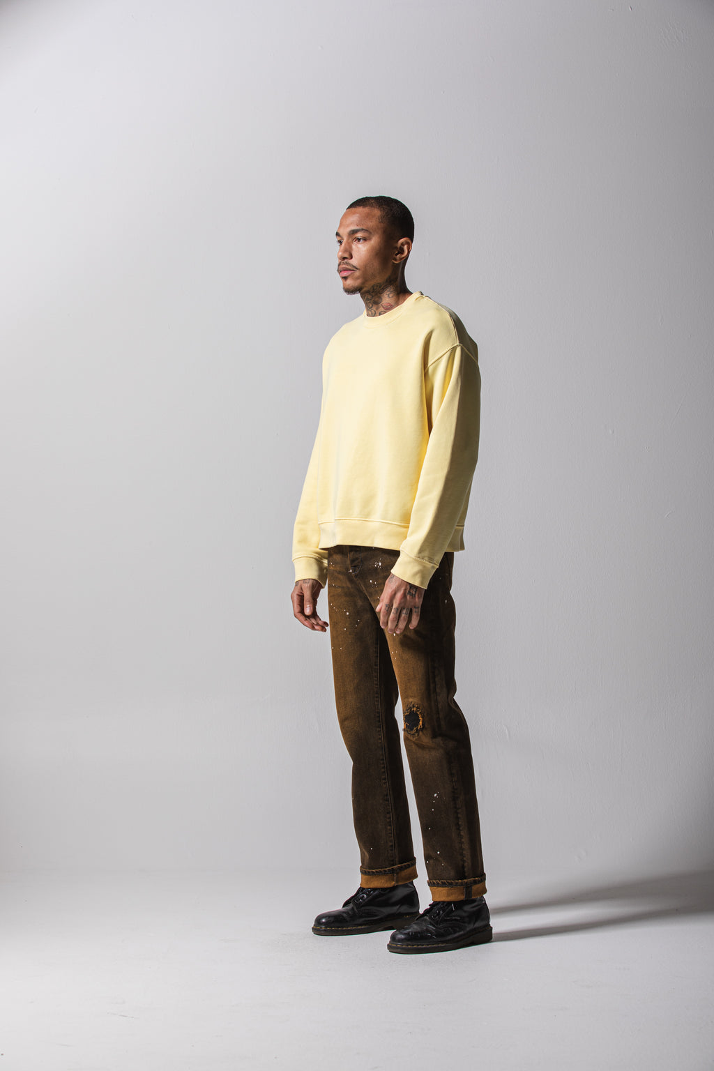 Oversized Crewneck - Sunshine