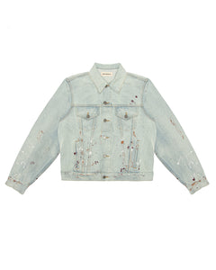 Denim Trucker Jacket - Light Wash