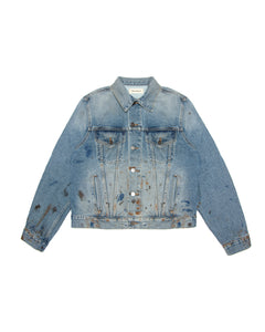 Denim Trucker Jacket - Dark Wash