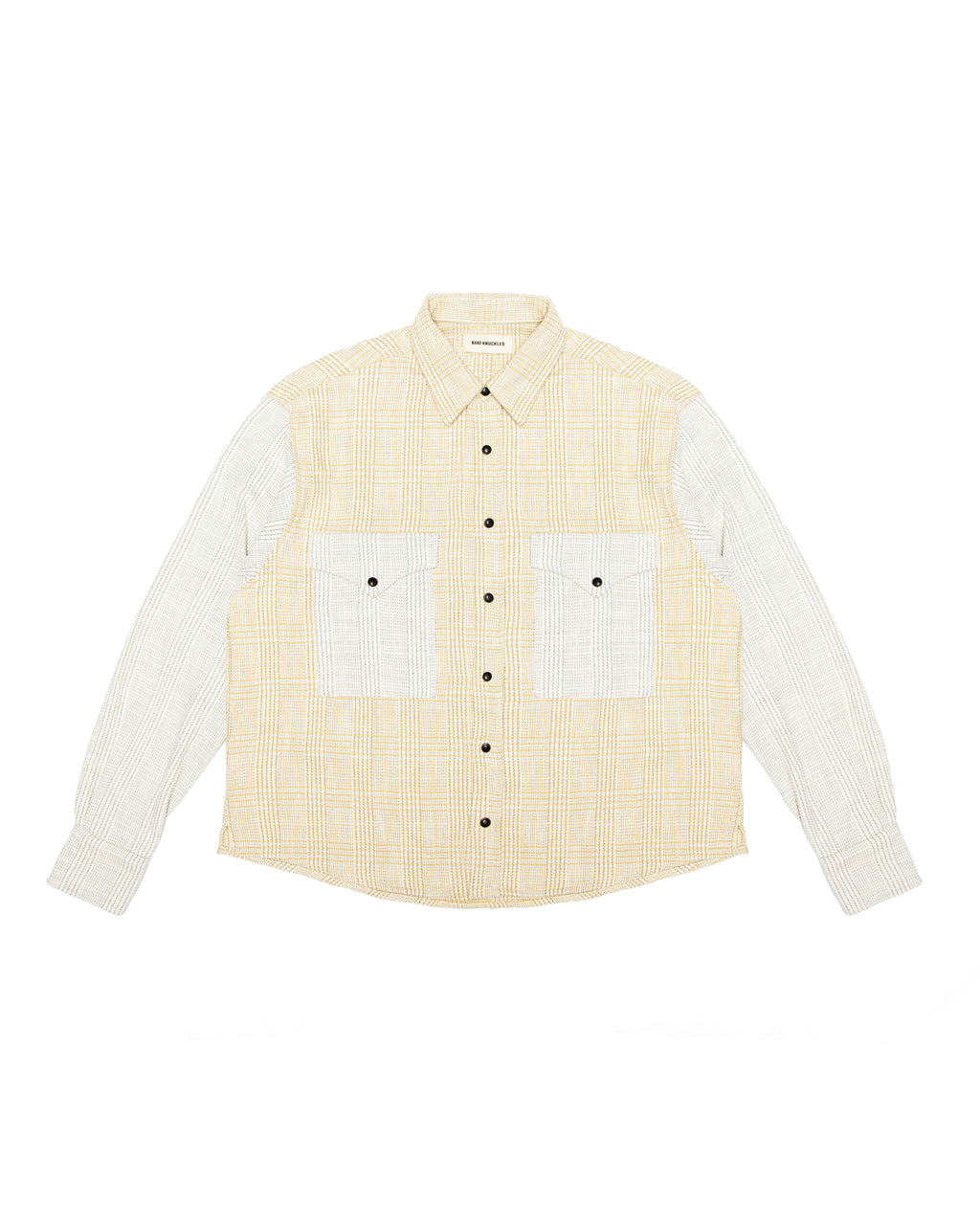 Two-Tone Flannel - Yellow and Ivory