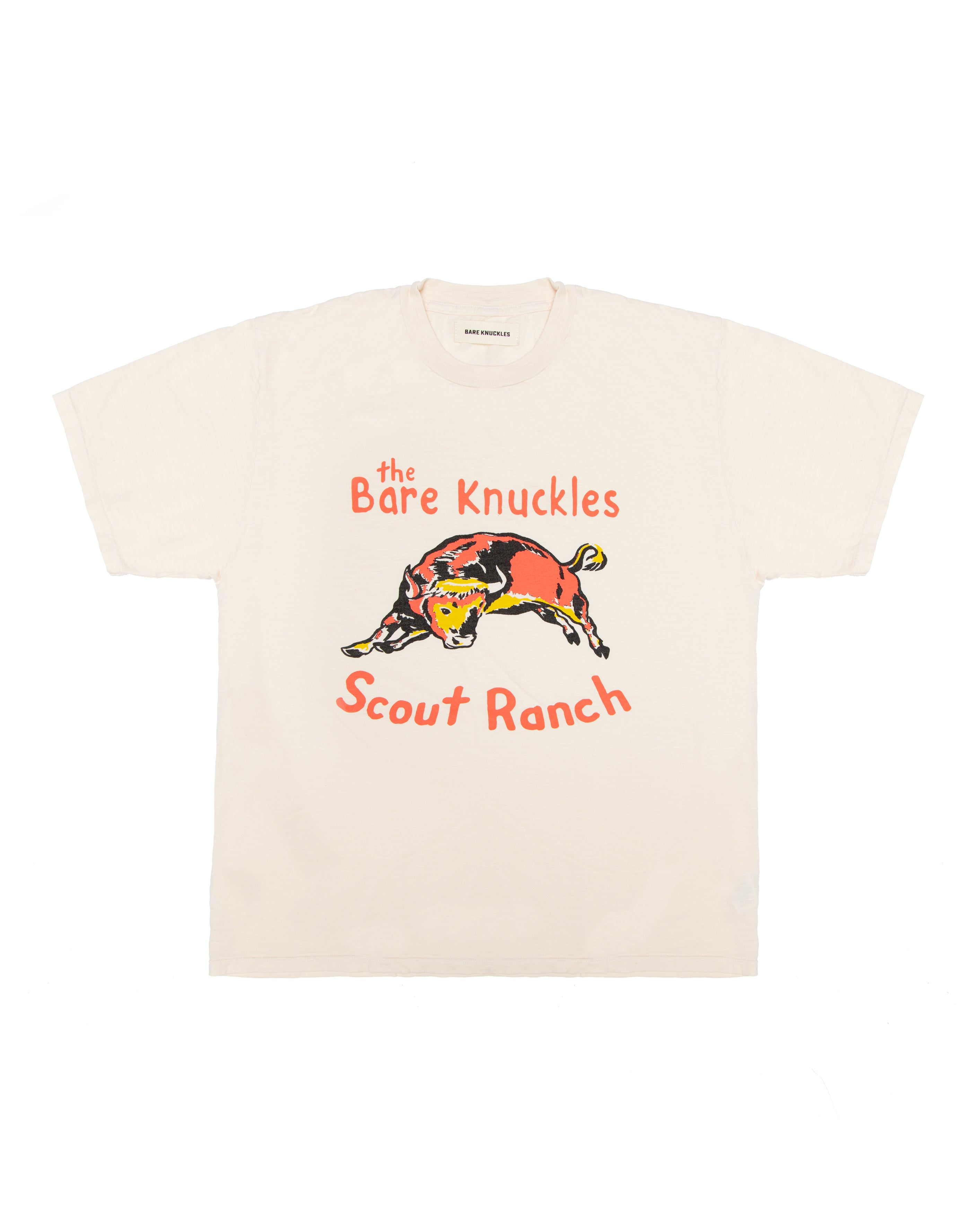 Scout Ranch Slub T-Shirt - White Smoke