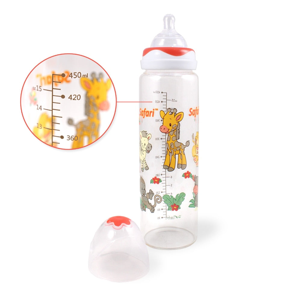 Safari Adult Baby Bottle RED