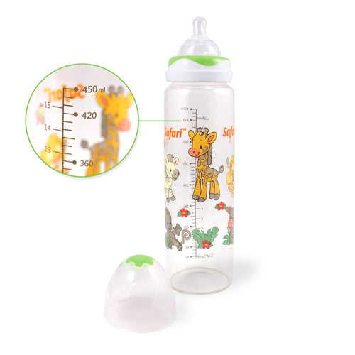 Safari Adult Baby Bottle Green