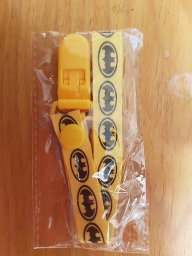 Batman Pacifier Clip - myabdlsupplies