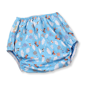 Waterproof Flannel Diaper Cover Planes 2XL - myabdlsupplies