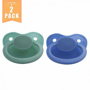 Night glow Adult Pacifier Blue and Green Set - myabdlsupplies