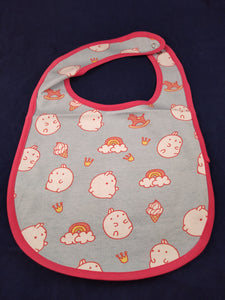 Rainbows and Ice Cream Bib - myabdlsupplies